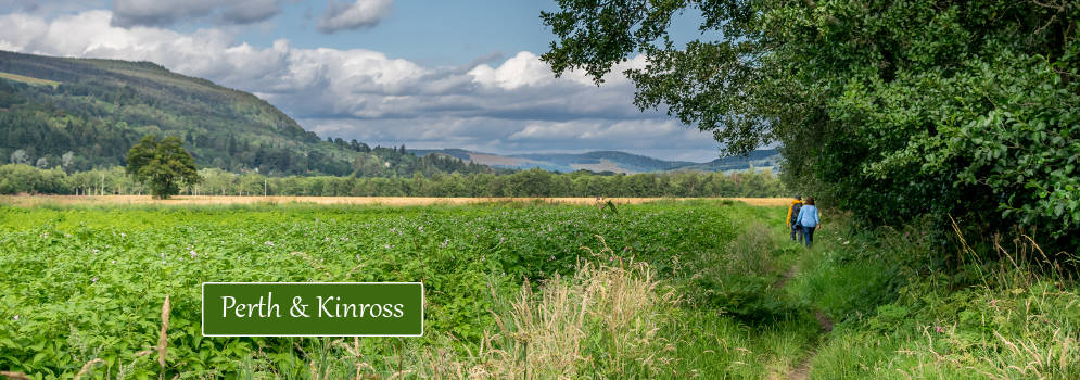 Perthshire in Schotland